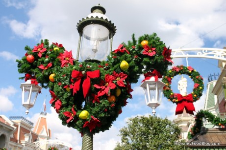 Main Street Holiday Decor!
