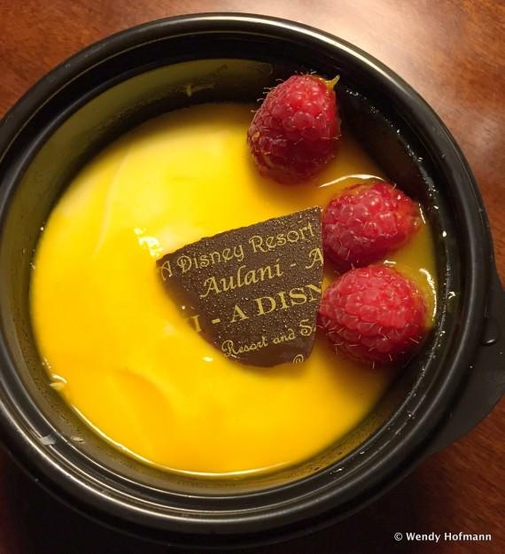 Lilikoi Cheesecake from Ulu Cafe in Disney's Aulani Resort