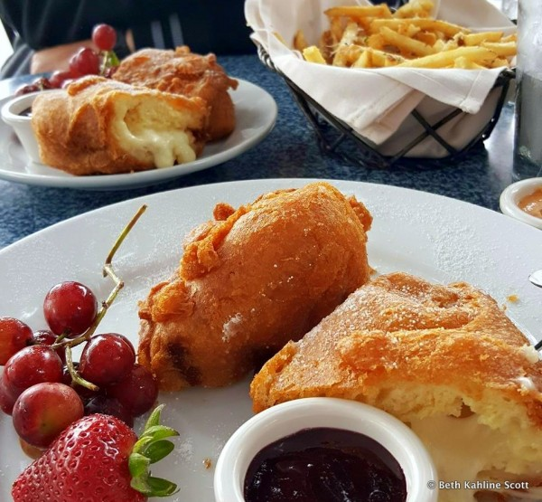 Three-Cheese Monte Cristo and Pommes Frites from Disneyland's Cafe Orleans