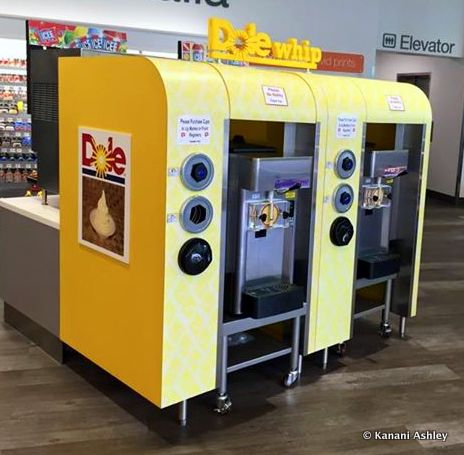 Spotted: Self Serve Dole Whip Machine!