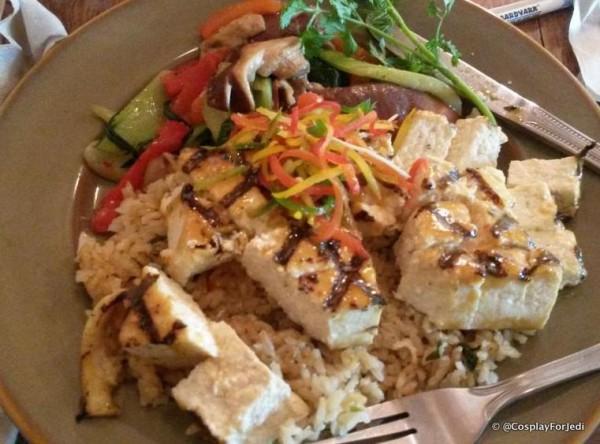 Vegan Options at Animal Kingdom's Yak and Yeti
