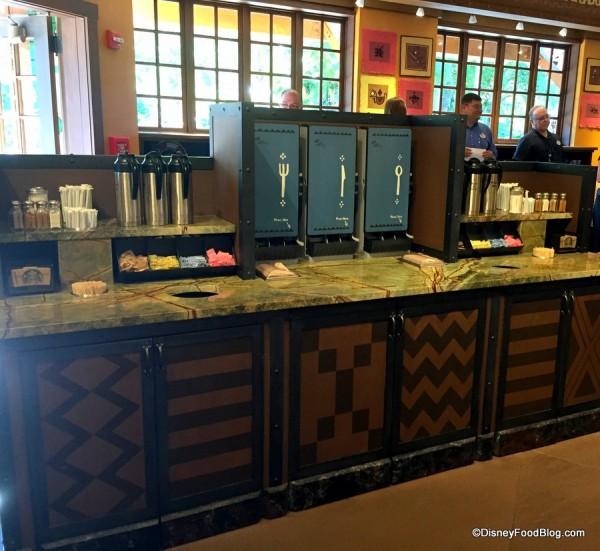 Condiments Bar