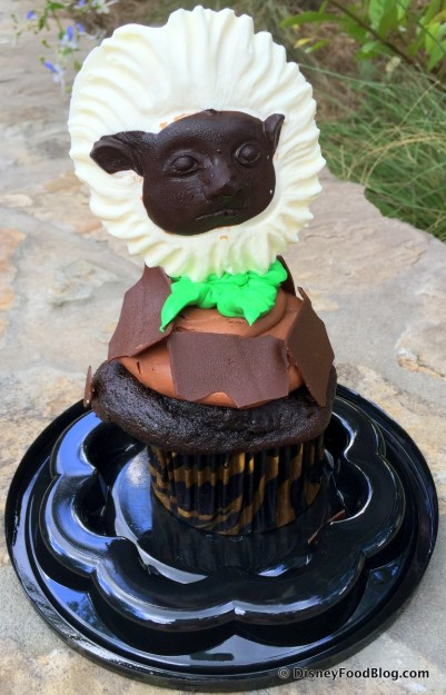 Starbucks Now Features the Cotton Top Tamarin Cupcake