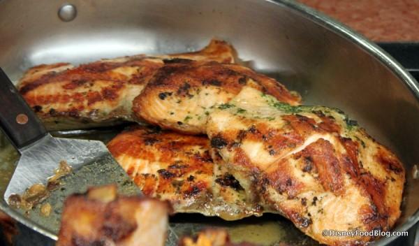 Oak Grilled Salmon