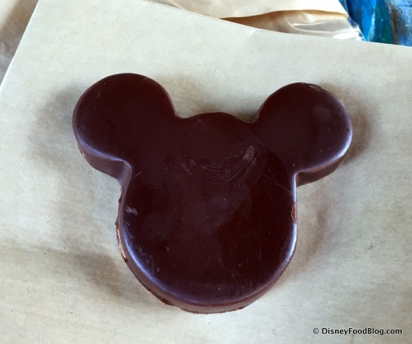 Dark Chocolate Mickey with Chili Peppers