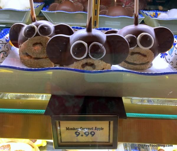 Monkey Caramel Apples