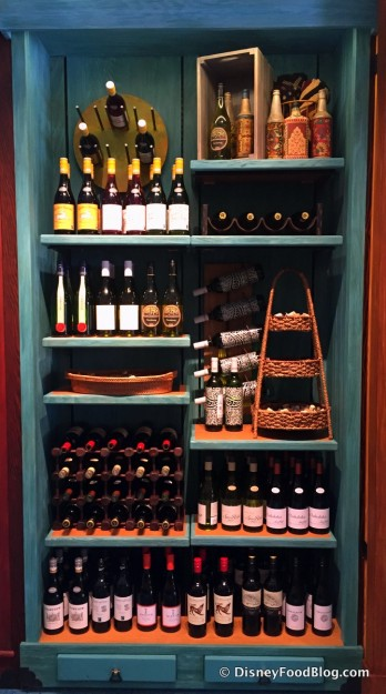 Display of African Wines