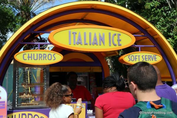 Italian Ice Kiosk