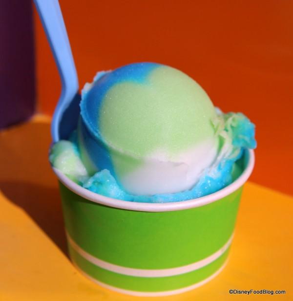 Tye-Dye Italian Ice