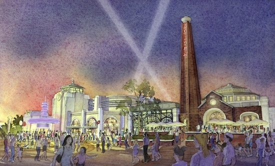 Concept Art for The Edison at Disney Springs ©Disney
