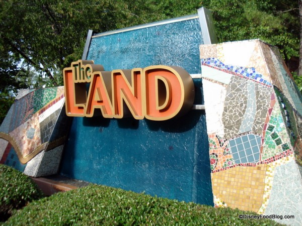 The Land Pavilion in Walt Disney World's Epcot