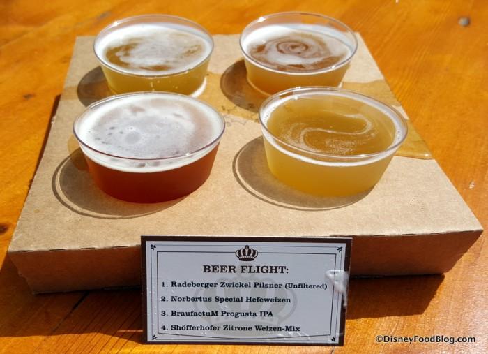2015 Beer Flight