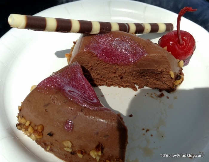 Cross-Section of Chocolate Cherry Explosion