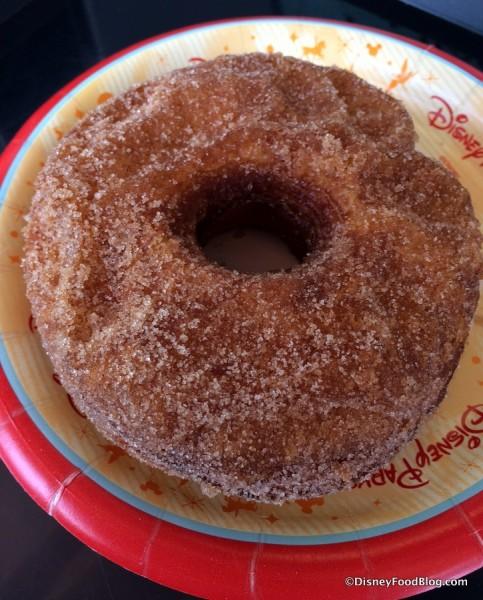 Croissant Doughnut with Cinnamon and Sugar