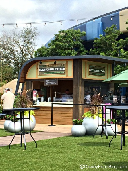 The 2015 Sustainable Chew Booth; 2016 will feature THE CHEW Collective