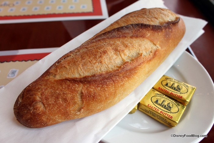 Baguette and butter