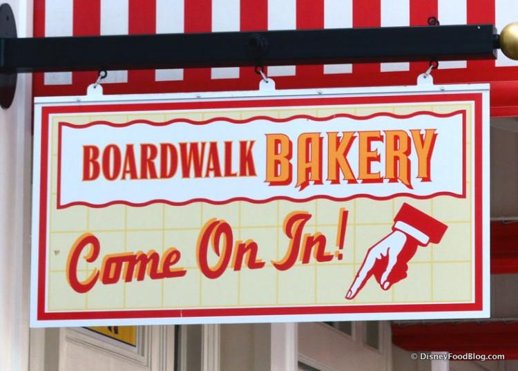 BoardWalk Bakery Sign