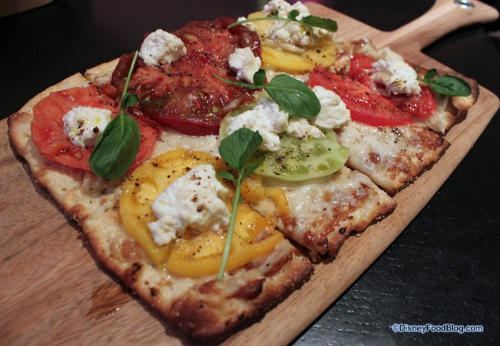Caprese Flatbread at Territory Lounge