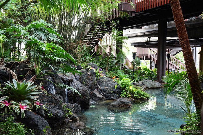 Disney's Polynesian Village Resort Scenery