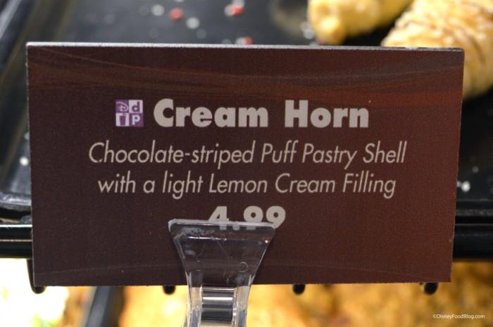 Cream Horn Sign