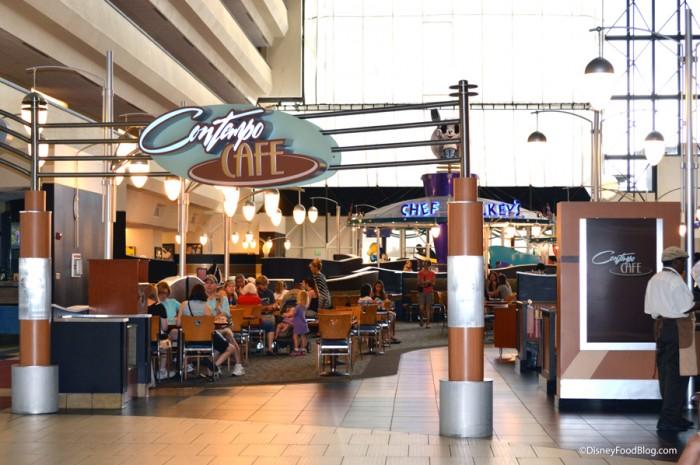 Contempo Cafe Entrance