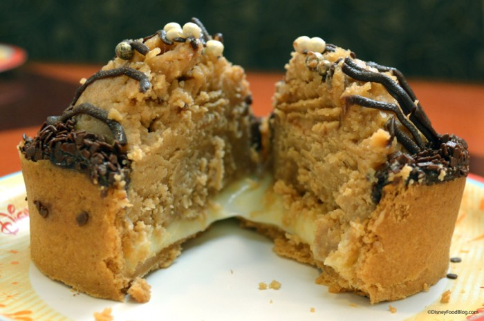 Peanut Butter Pie Cut in Half