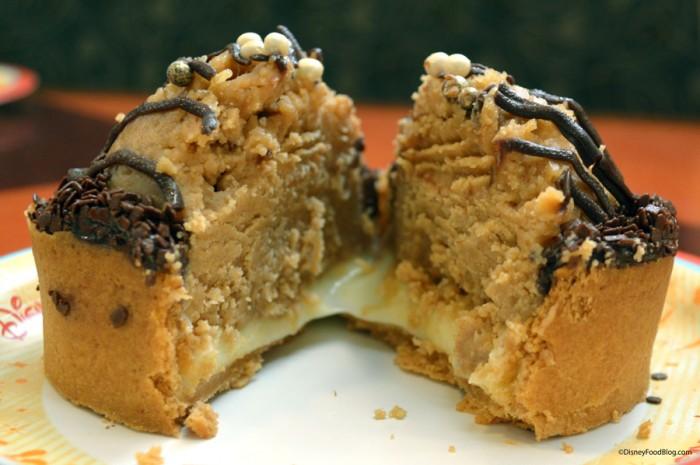 Peanut Butter Pie Cut in Half
