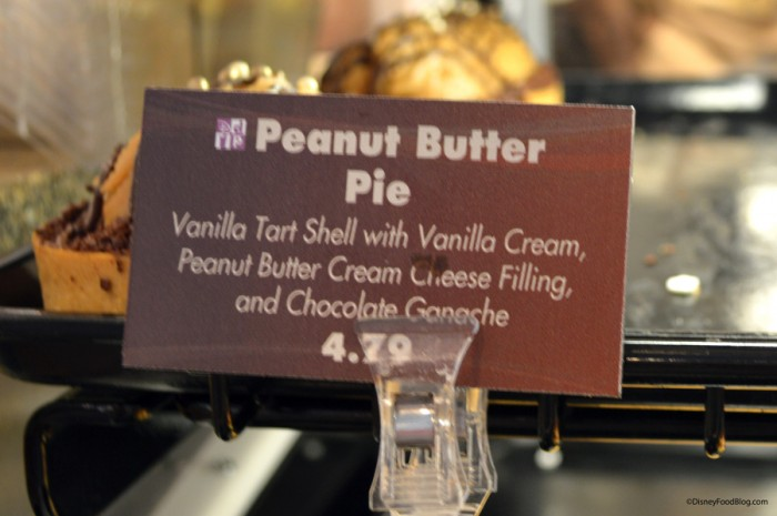 Peanut Butter Pie Sign