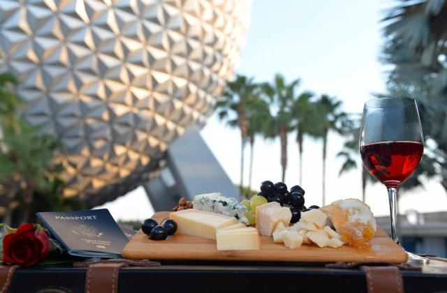 Wine and Cheese. Yes, Please. Photo by Disney.