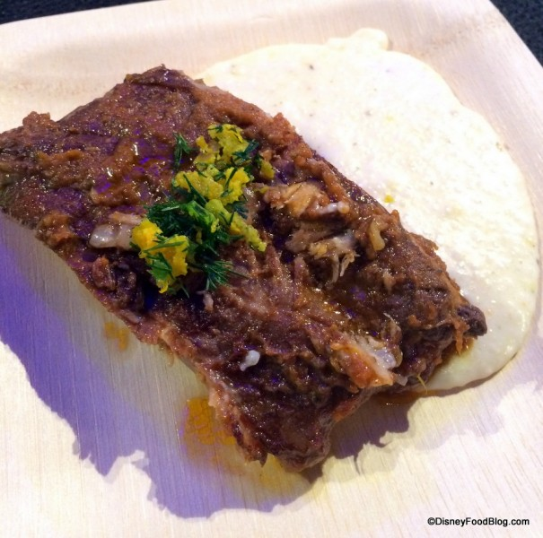 Pork Spareribs with Cheesy Mascarpone Grits