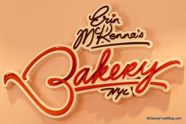 Erin McKenna's Bakery NYC indoor sign