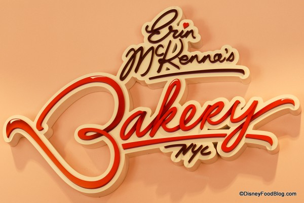 Erin McKenna's Bakery NYC indoor sign