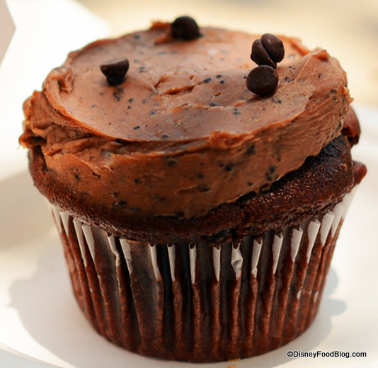 Mocha Brownie Cupcake from Erin McKenna's Bakery NYC