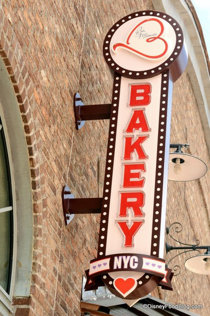 Erin McKenna's Bakery NYC sign