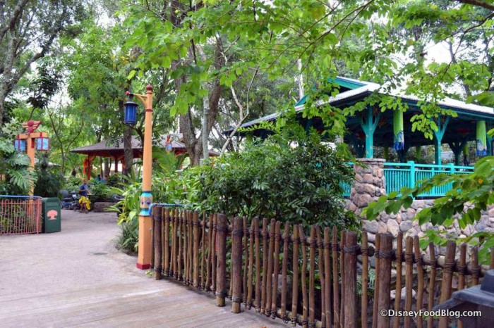 Flame Tree Barbecue atmosphere