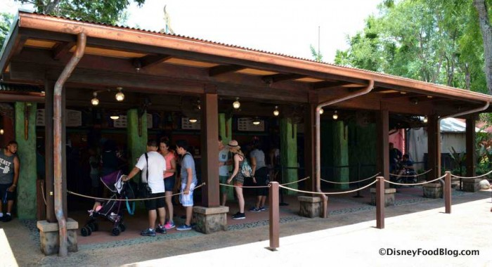 Flame Tree ordering area
