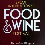 2015 Food and Wine Festival Booth Preview: Sustainable Chew and Chew Lab Marketplaces