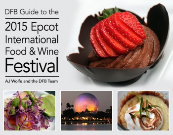 Food and Wine Guide Cover 2015