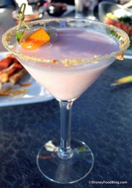 Grapefruit Cake Martini