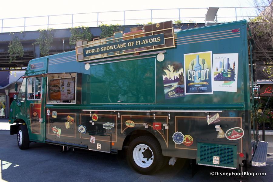 Fantasy Fare Food Truck The Disney Food Blog