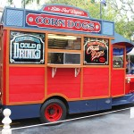 Review: Hand-Dipped Corn Dogs at Disneyland's Little Red Wagon