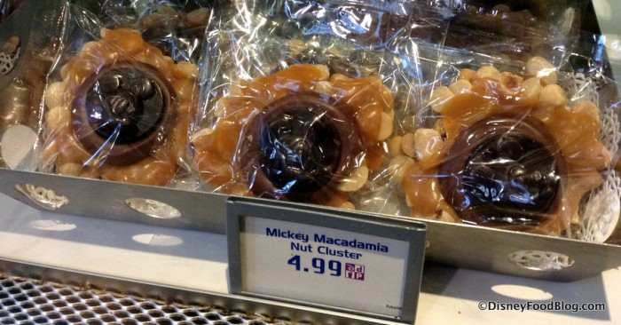 Mickey Macadamia Nut Clusters