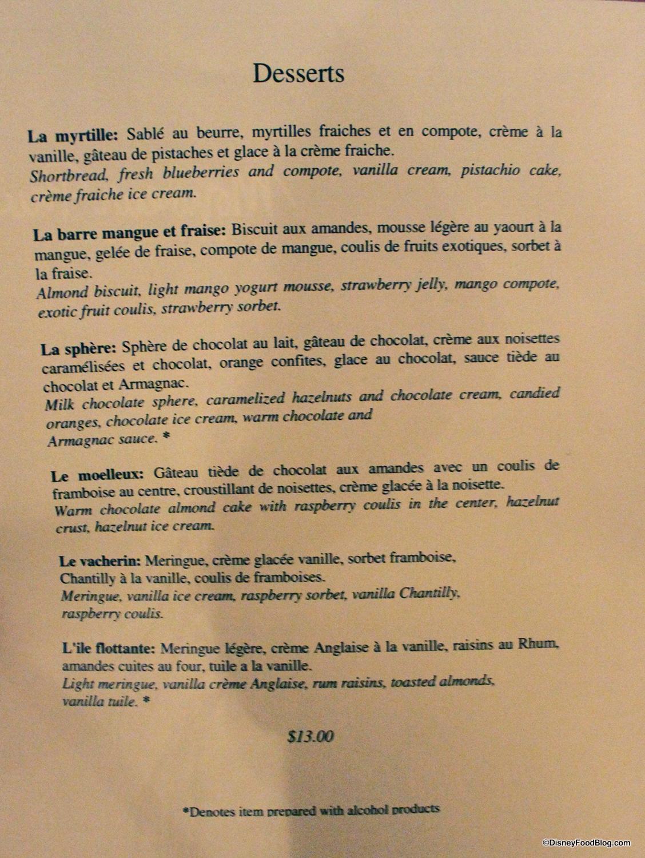 Review: Monsieur Paul in Epcot\'s France Pavilion | the disney food blog