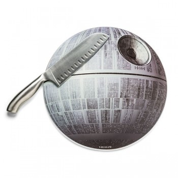 Round Up Mickey Fix Death Star Cutting Board