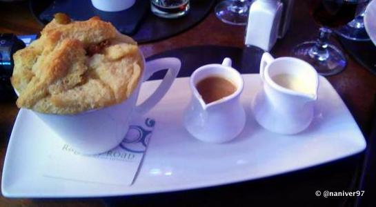 Ger's Bread and Butter Pudding at Raglan Road Irish Pub and Restaurant