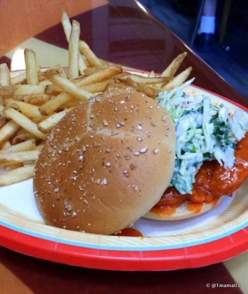 Contempo Cafe's Spicy Chicken Sandwich
