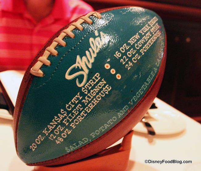 Shula's Football Decor