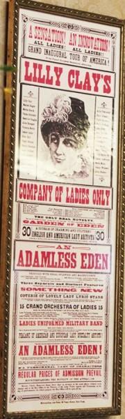 Vintage style sign decor