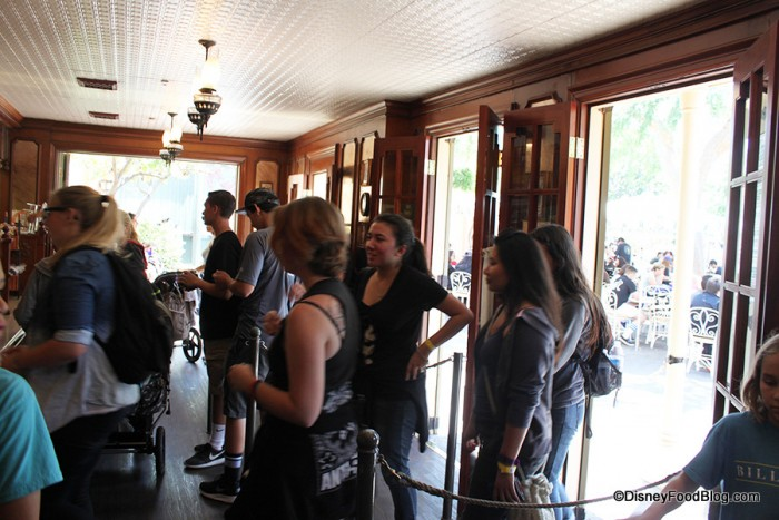 Lines at the Stage Door Cafe
