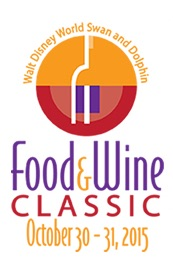 Swan and Dolphin Food and Wine Classic Logo 2015